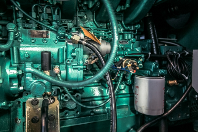 Visuel moteur gelec - Moteur groupe électrogène GELEC Energy