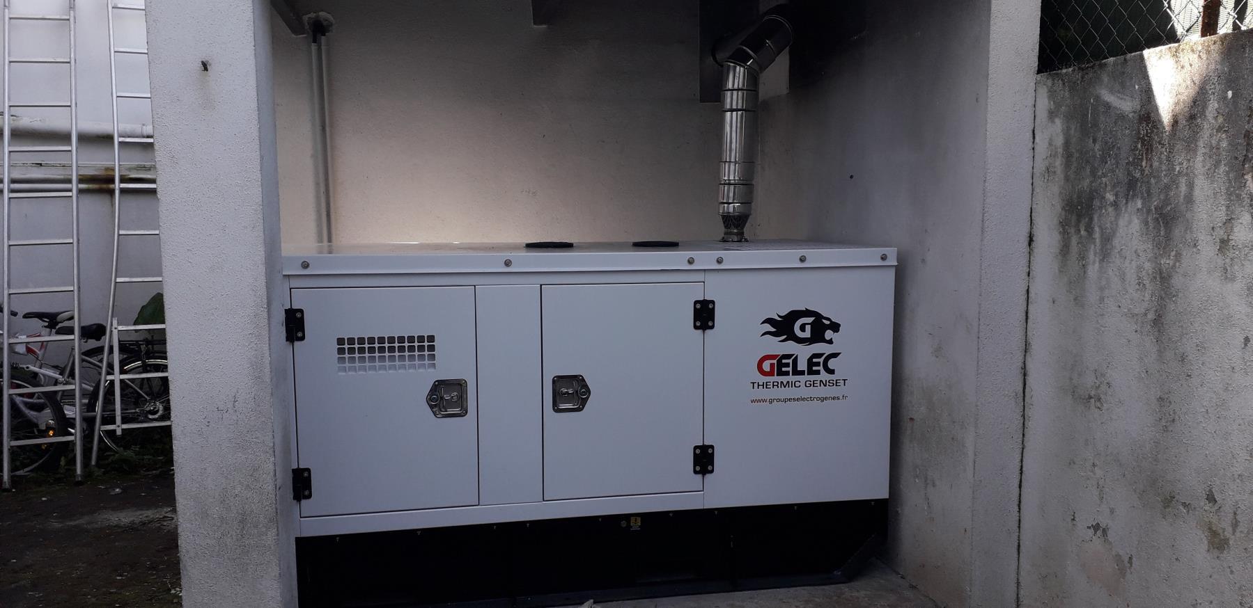 groupe électrogène hôtel de police - Installation groupe électrogène diesel hôtel de police