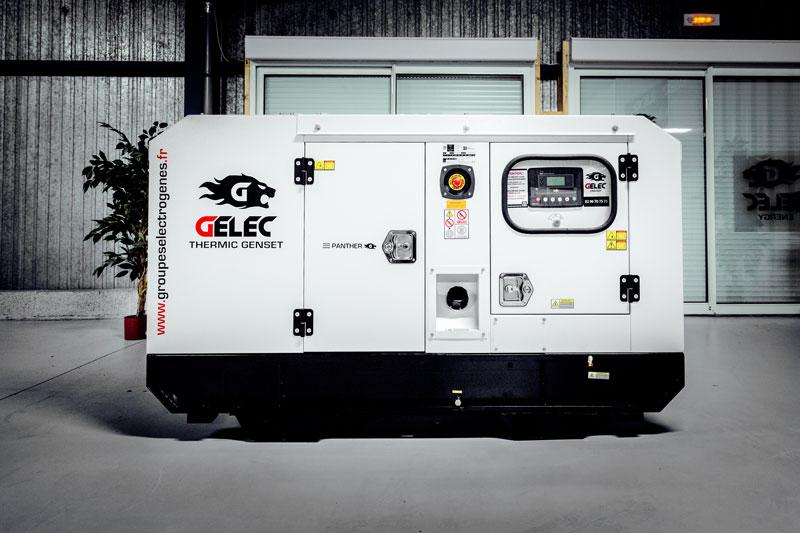 Groupe électrogène GELEC 8 kVA diesel