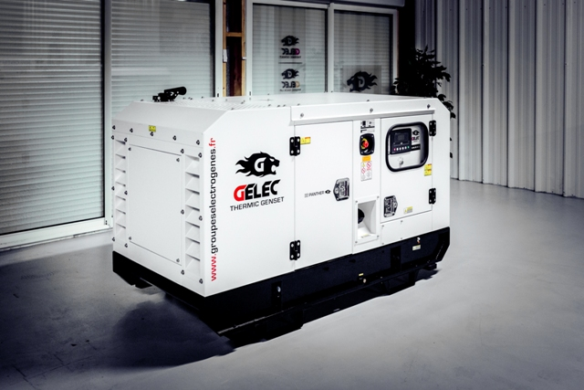 groupe électrogène GELEC 14 kVA diesel
