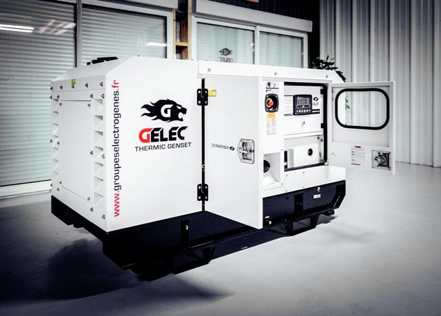 groupe électrogène GELEC 35 kVA diesel