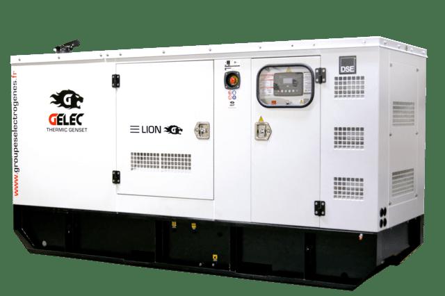 Groupe électrogène diesel - Gamme LION