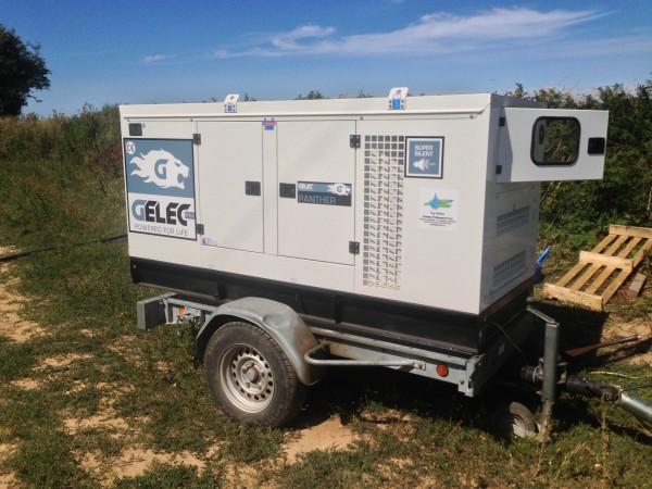 Irrigation groupe électrogène GELEC Energy