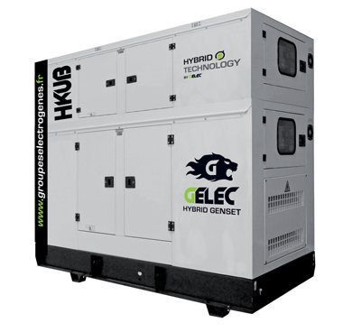 Groupes électrogènes hybrides GELEC Energy