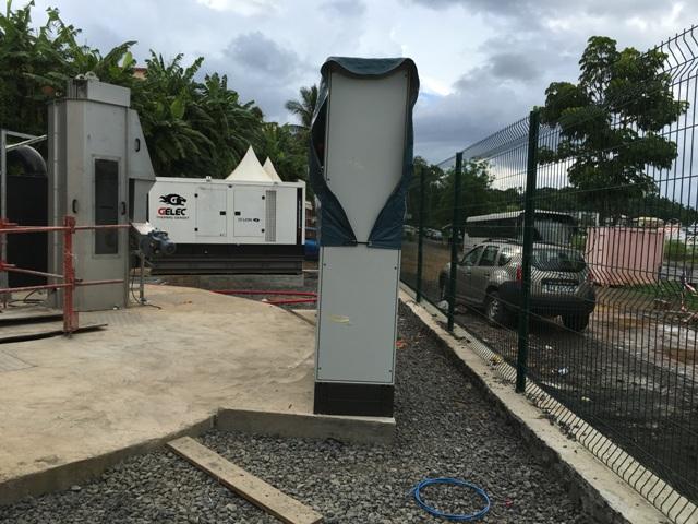 STATION DE RELEVAGE D'EAU groupe électrogène