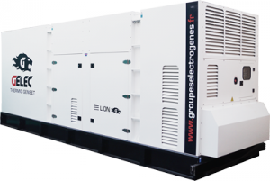 Groupe électrogène 750 kVA GELEC