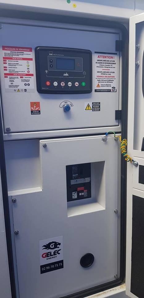 Compagnie d'alimentation groupe électrogène 110 kVA