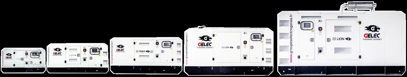 gamme groupes électrogènes gelec energy