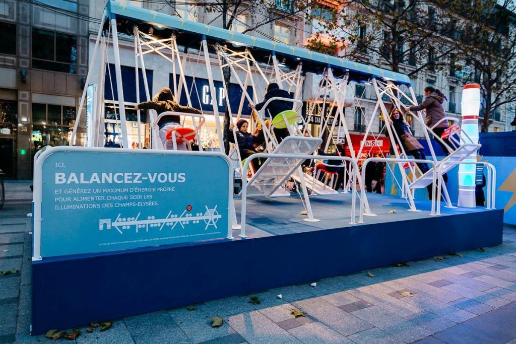 GELEC et IKEA illumine Paris - groupe électrogène électrique