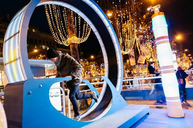 GELEC et IKEA illumine les Champs Elysées - groupes électrogènes
