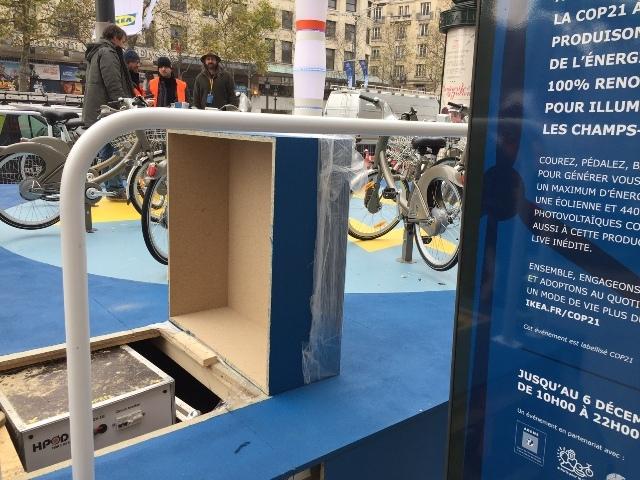 GELEC et IKEA illumine les Champs Elysées