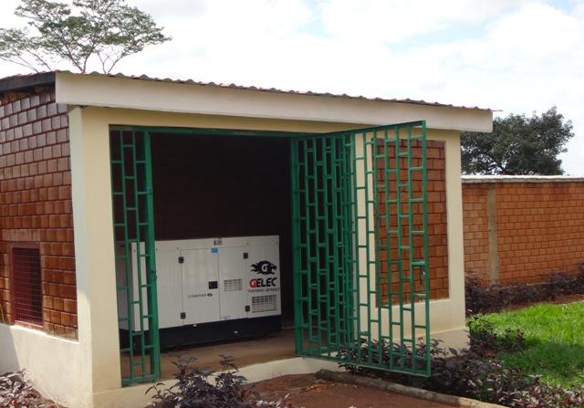 Groupe électrogène GELEC école Congo
