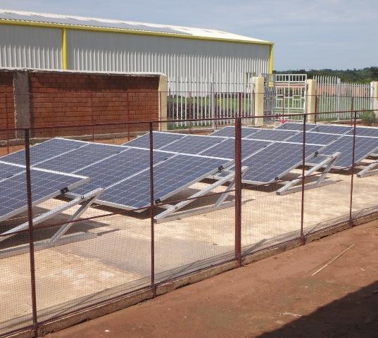 Groupe électrogène école isolée au Congo