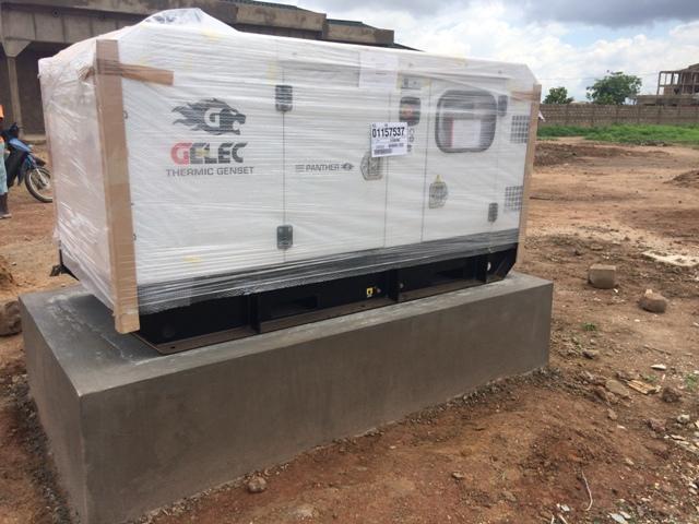 groupe électrogène Burkina Faso 35 kVA Bonkian Burkina