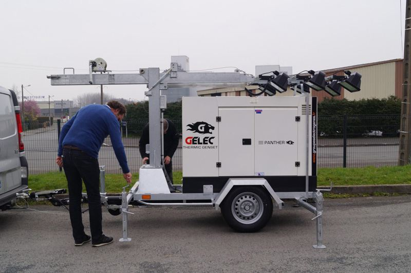 Nomad lighting genset GELEC Energy