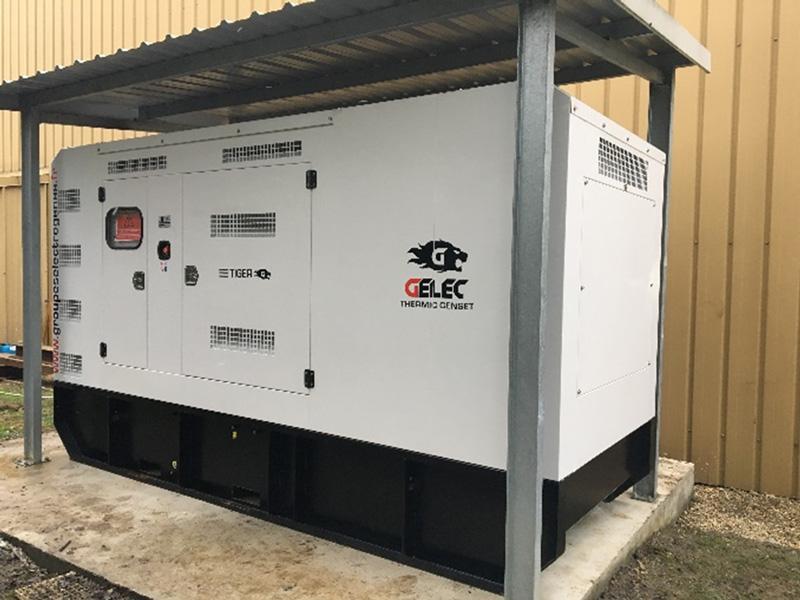 un groupe électrogène pour pallier aux pics de puissance - Groupe électrogène GELEC 280 kVA