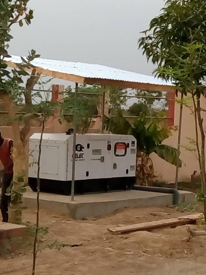 Villa au Bénin - Groupe électrogène diesel PANTHER Villa au Bénin
