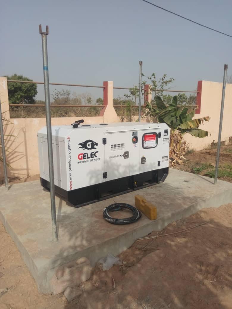 Villa au Bénin - Groupe électrogène au Bénin