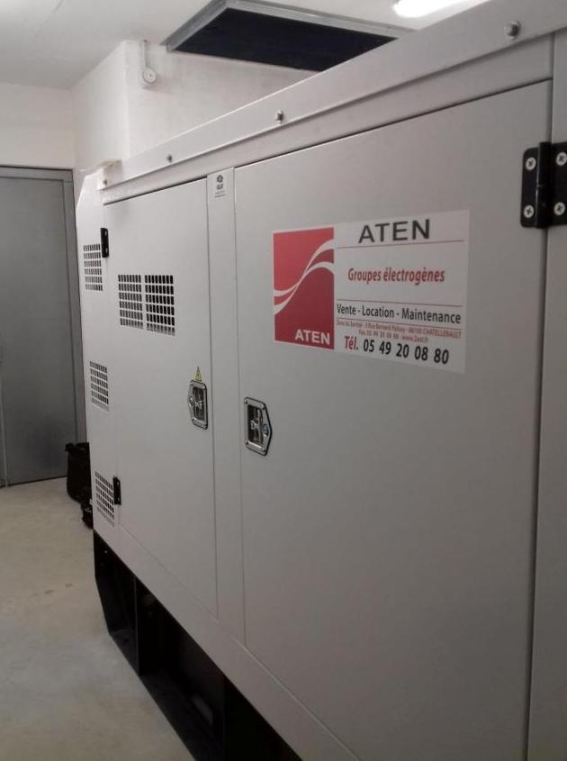 groupe électrogène GELEC base sous-marine de St Nazaire - Groupe électrogène diesel : sécuriser alimentation base sous-marine