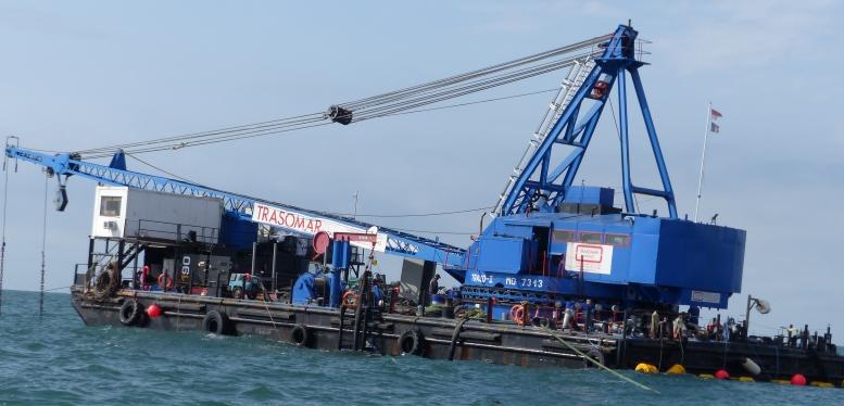 groupe electrogene sur barge - Groupe électrogène diesel OUTDOOR sur barge
