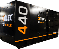 Groupe électrogène rental 440 kVA diesel 200x166