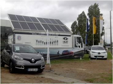 """Hybrid Power Station recharge les """"Zoé"""" chez Renaut"""