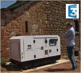 Installation groupe électrogène Aveyron - maison autonome