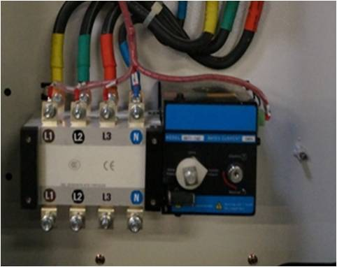 Option d marrage automatique inverseur de source for Groupe electrogene diesel demarrage automatique
