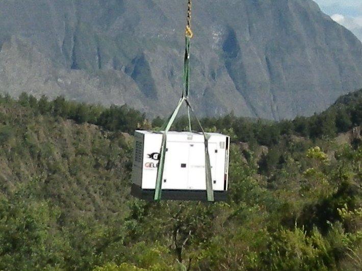 Groupe électrogène Gelec Mafate La Réunion