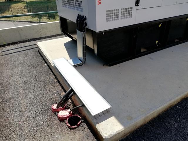 plateforme logistique groupe électrogène 250 kva - Plateforme logistique sécuriser l'alimentation électrique