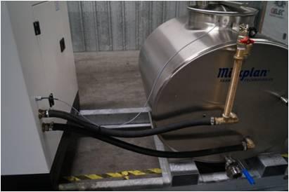 Groupe électrogène GELEC cogénération huile végétale TRAITE EN ALPAGE
