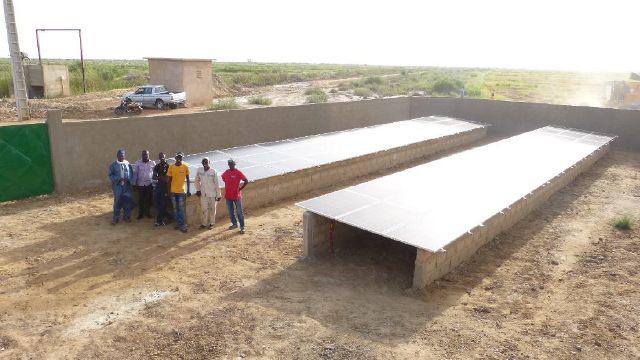 station pompage eau afrique - africa water pump